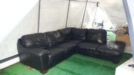 large leather italian corner sofa cost 2000 new first to see will buy