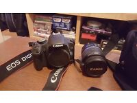 Canon EOS 500D with EF-S 18-55 mm IS Lens Kit