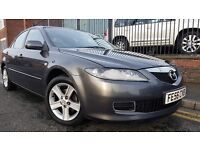 2006 (56 reg) Mazda6 2.0 TS 4dr Saloon, 6 Gears and cruise control, £695 p/x welcome