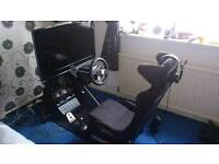 Gaming pc racing rig playseat PlayStation Xbox one