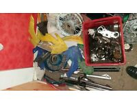 job lot of pitbike parts
