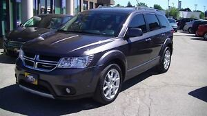 2014 Dodge Journey RT AWD WITH LEATHER, NAV, V6