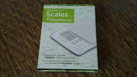 Pro points plan kitchen Scales by weight watchers ,brand new in box
