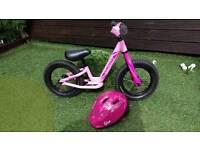 Specialized Hotwalk Balance Bike and Helmet