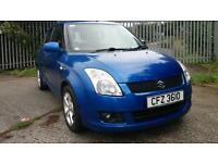 Thanks 2010 SUZUKI SWIFT SZ-3. 5 dr Met Blue .!! 1.2 Diesel £30 Road Tax