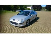 PEUGEOT 407 2.0 HDi 136 Zenith 4dr Tip Auto (silver) 2005