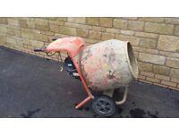Belle electric mixer concrete mixer