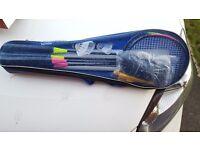 Family badminton set
