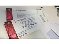 1 Robbie Williams ticket 6th June Southampton