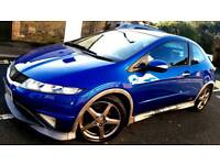 Honda Civic 2007 Type S GT low mileage 98k Panaromic roof SatNav