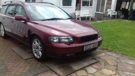 Volvo V70S 2002 petrol auto estate