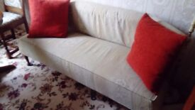 Bay window seat used antique style