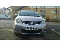 Nissan Note 1.6 16v Tekna 5dr Automatic GREAT SPEC / FULLY LOADED. 2009 88k miles Automatic