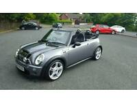 Late 2007 MINI Cooper S convertible...full jcw kit....only 67.000 miles...full years MOT