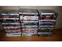 Large DVD Bundle - Over 60 Dvds - Good Titles