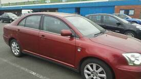 Toyota avensis D4D low milage