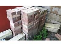 170(ish) house bricks 50p per brick