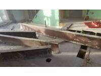Steel gurders