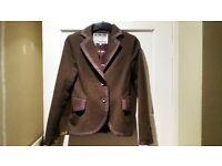 Joules Herringbone 100% Wool Blazer