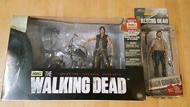 The Walking Dead Rick Grimes & Daryl Dixon Figures