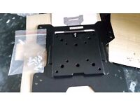 "Brand new unused up to 32"" flat to wall tv bracket for lcd tv"