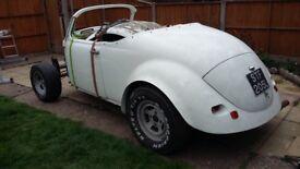 1972 vw beetle wizard needs full restoration