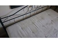 Superking size bed with mattress for quick sale