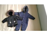 Baby winter suit and jacket