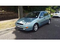 FORD FOCUS ZETEC. NEW 1YR MOT STARTS AND DRIVES GREAT BARGAIN PRICE £395!!!!!