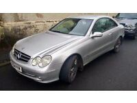 mercedes benz clk 270 cdi turbo diesel automatic advantarge 2004 04 plate