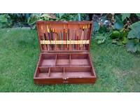 Wooden Float Fishing box