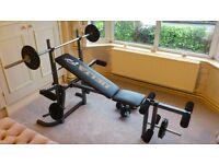 Bench Press, Weights & Dum Bell Set