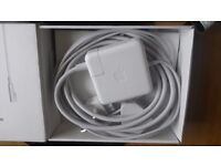 Hardly Used Apple Power Adapter 60W Magsafe