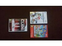 3 X Wii games, all like new !