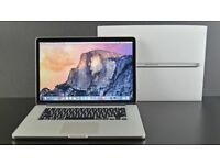 15.4' MacBook Pro Retina Display Quad Core i7 2.5GHz 16GB Ram 500Gb SSD Logic Pro X Ableton Adobe CC