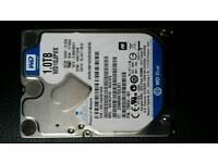1tb hard drive +usb to sata cable