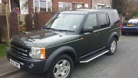 LAND ROVER DISCOVERY 3 TDV6 S 55 REG LONG MOT FULL STAMPED LAND ROVER SERVICE HISTORY MANUAL