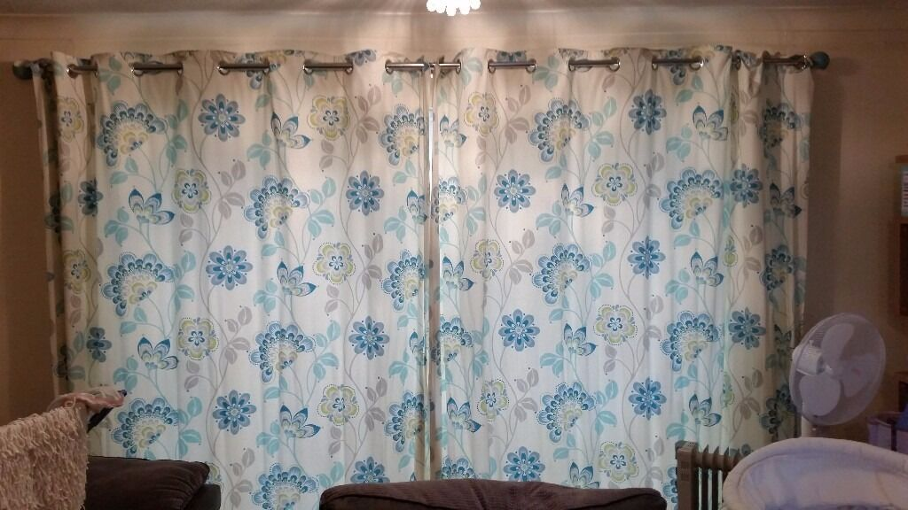 Next curtains with pole and tie backsin Rainhill, MerseysideGumtree - Next teal curtains 90×90 These are lovely Come with next pole and tie backs Bought for over £200