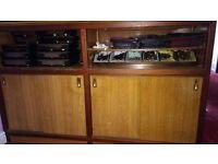 Solid Large Brown Cupboard Unit (180cm x 47cm x 112cm) Kitchen Restaurant
