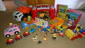 Happyland and Fisher Price toy bundle