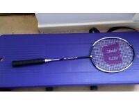 Badminton racket & cover