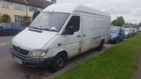 2005 MERCEDES-BENZ SPRINTER 12 month MOT, Good runner