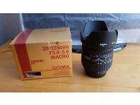 Nikon fit 28-135 lens