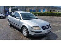 2005 (55 Reg) Volkswagen Passat 1.6 S 4dr Saloon For £795, Mot'd til 17/06/2017 + 3 Months Warranty