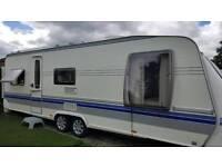 Hobby. VIP Touring caravan 2008
