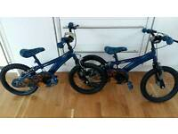 2 Skylander 16 inch Wheel Boys Bikes