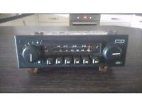 Ford retro car radio