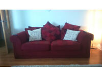 2 Large Sofas for sale - Must go - £90 only for both