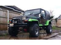AWESOME AMC JEEP WRANGLER / 4.2 RARE / LOW MILLAGE / RHD / STUNNING
