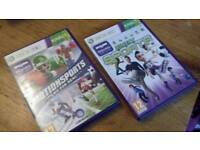 Xbox 360 kinect games - kinect sports & motion sports